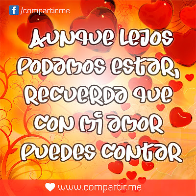 Frases De Amor Frases De Amor Lejano Con Fondo De Corazon Flickr
