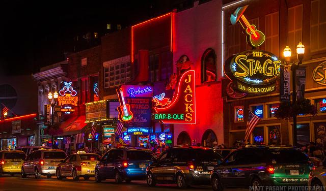 Broadway Nashville Tn Explore Matt Pasant S Photos On