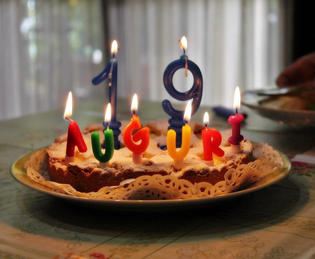 All Sizes Buon Compleanno A Mio Figlio Lorenzo Che Oggi Compie 19
