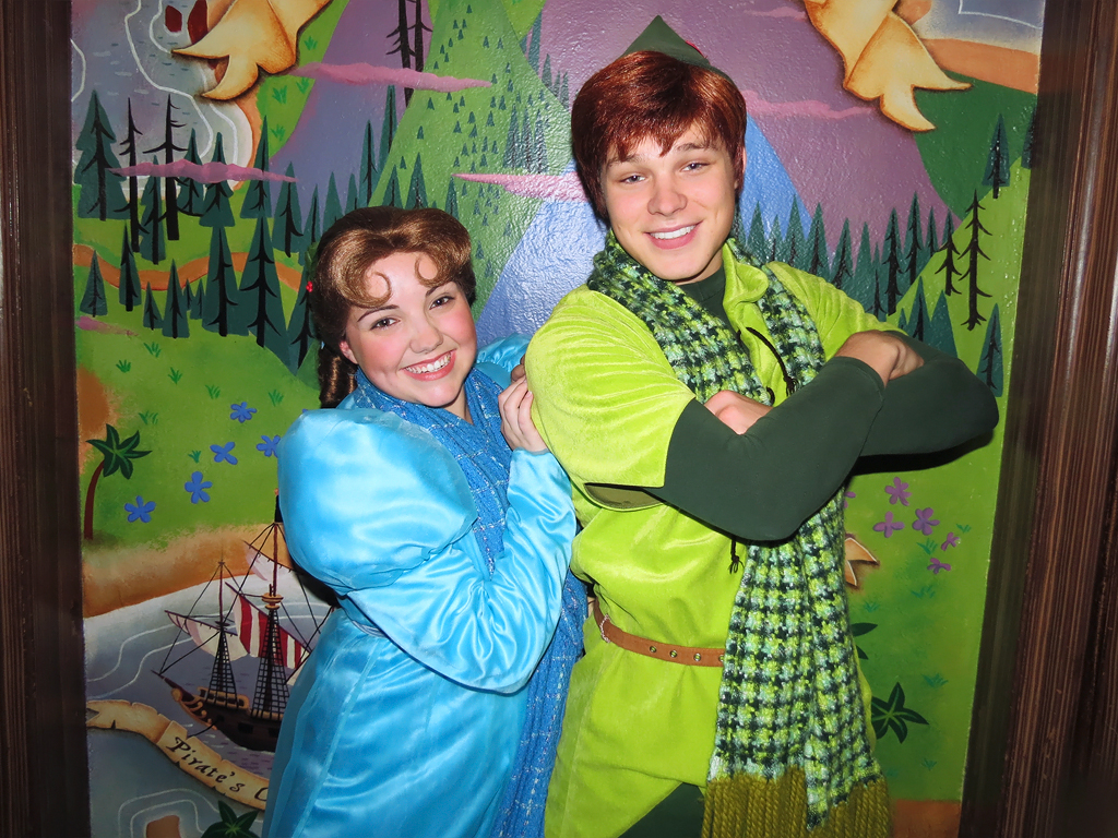 Wendy darling and peter pan peter pans flight magic king flickr wendy darling and peter pan by meeko kristyandbryce Image collections