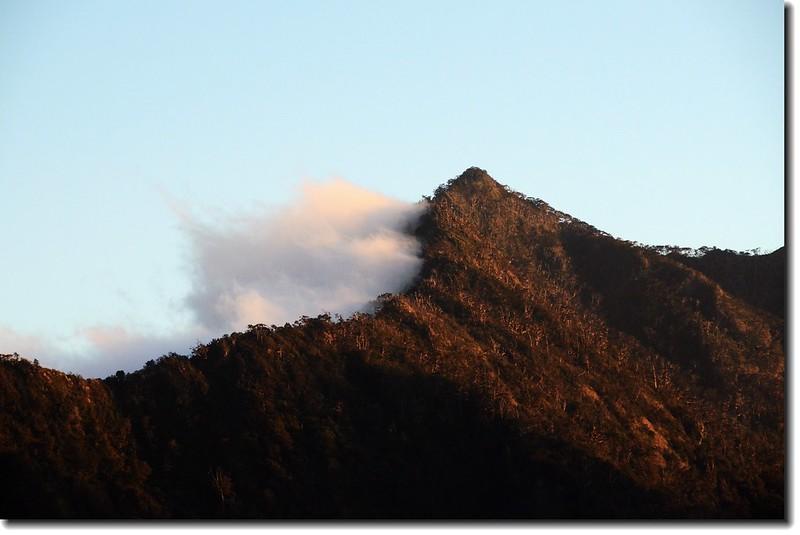 北大武山登山步道3.8K光明頂的黃昏 5