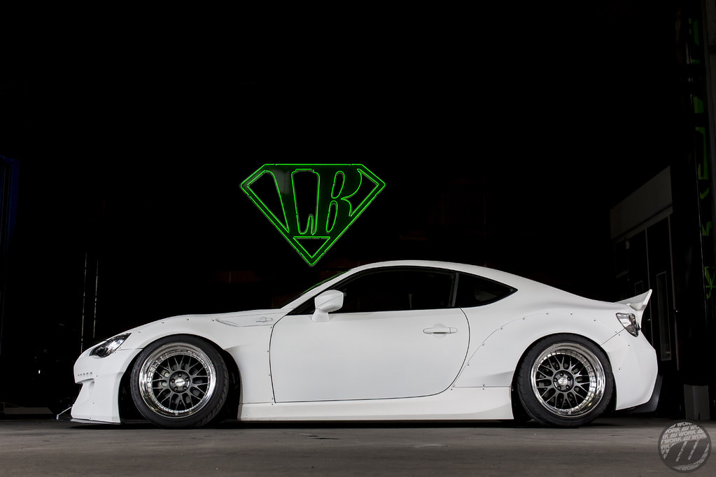 Rocket Bunny Toyota 86 On Work Meister M1 3p 18 Quot Mgm