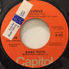 BABE RUTH:ELUSIVE(LABEL SIDE-A)
