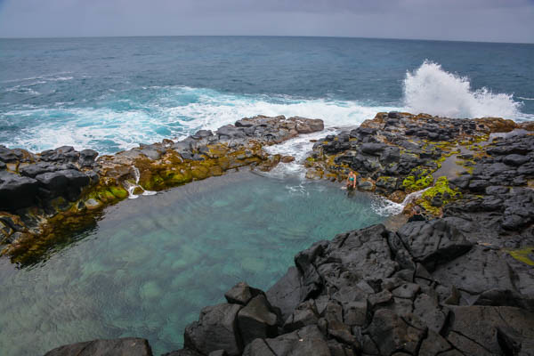 Queen's Bath Kauai, Hawaii