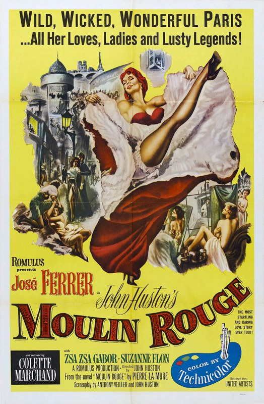 Moulin Rouge - 1952 - Poster 2