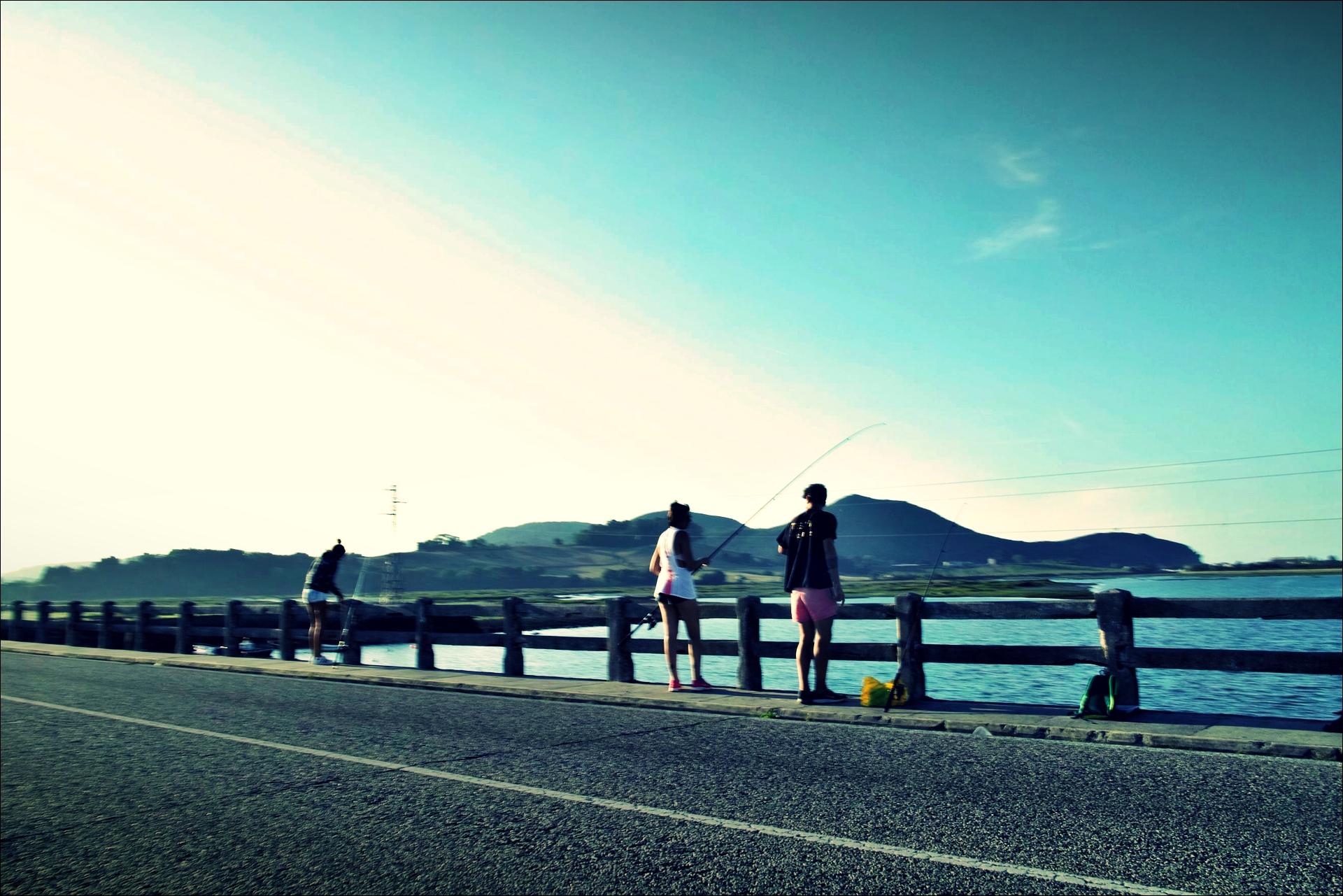 낚시꾼-'카미노 데 산티아고 북쪽길. 리엔도에서 산토냐. (Camino del Norte - Liendo to Santoña) '
