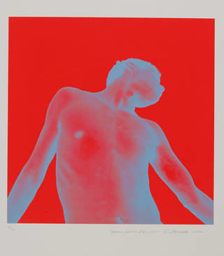 Red Work 501, print, Philip Dontsov, 2004, Russia