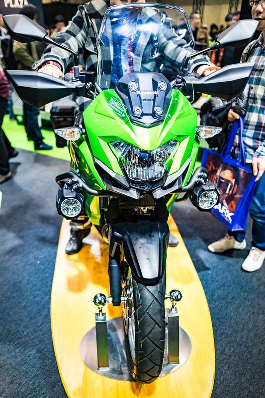Tokyo MC Show 2017 : Kawasaki VERSYS-X 250 ABS TOURER