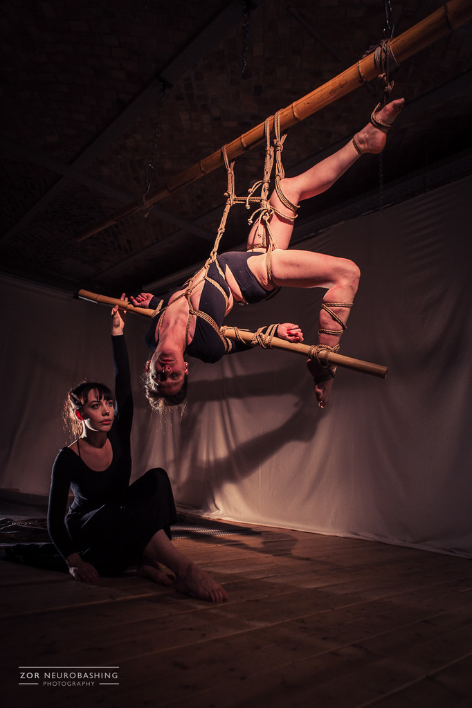 Shibari performance by Gestalta and Noctuelle at The 10th Eurix, Berlin, March 2017