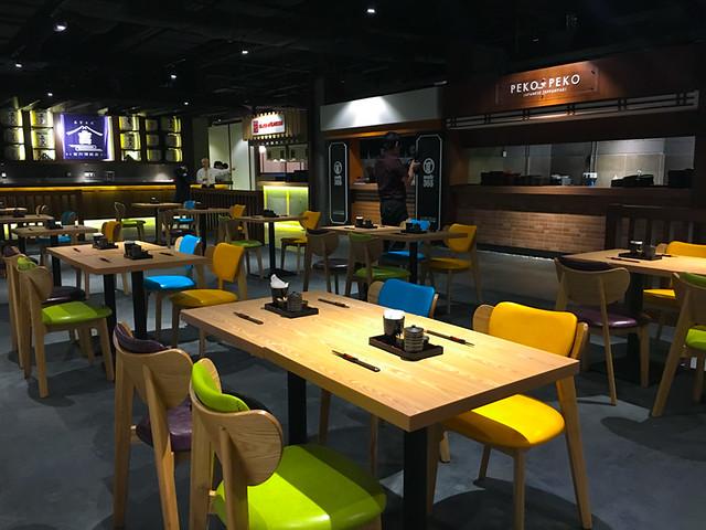 Aragan Yokocho Kitchen and Seating Area