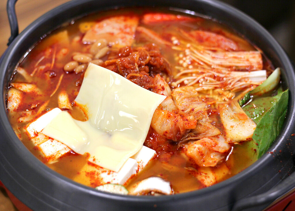Muk-Bang Korean Restaurant: Budae Jjigae
