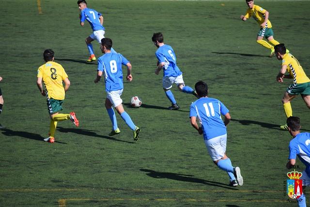 Juvenil Nacional Atlético Tomelloso contra E.F.B.-U.D. Almansa