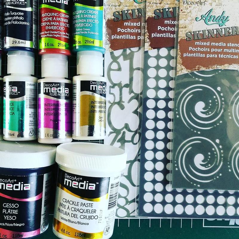 decoart mixed media materials