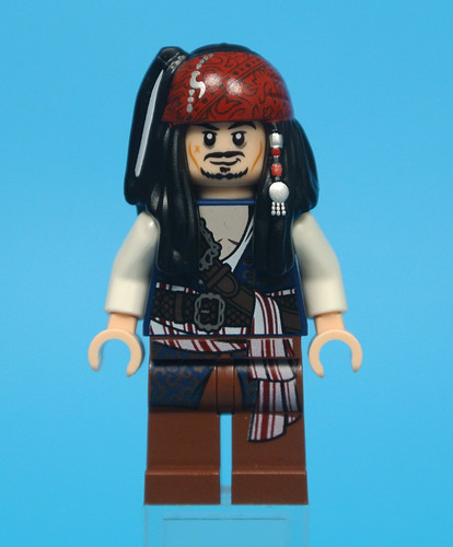 Lego Officer Santos 71042 Silent Mary Pirates of the Caribbean Minifigure