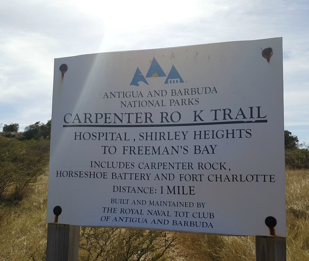 Carpenter Rock Trail, Shirley Heights, Antigua