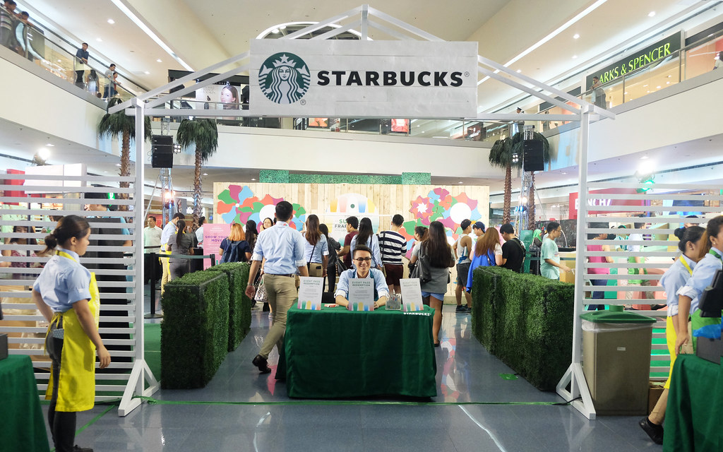 Patty Villegas - The Lifestyle Wanderer - Starbucks - Philippines - Frappuccino - Grand Launch - Mall of Asia Atrium - Pop'zel Coffee -1