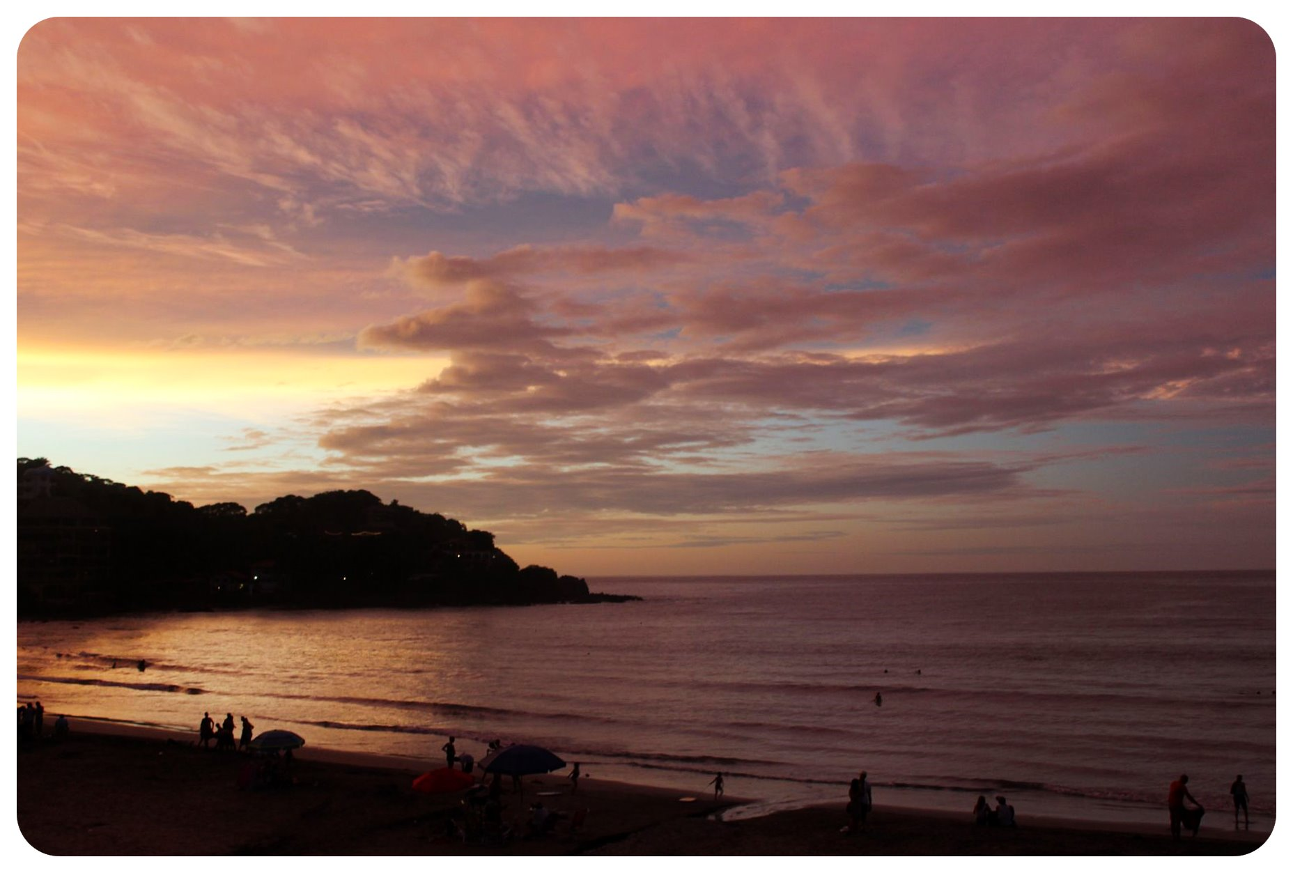 Beach Sayulita Sunset Sky