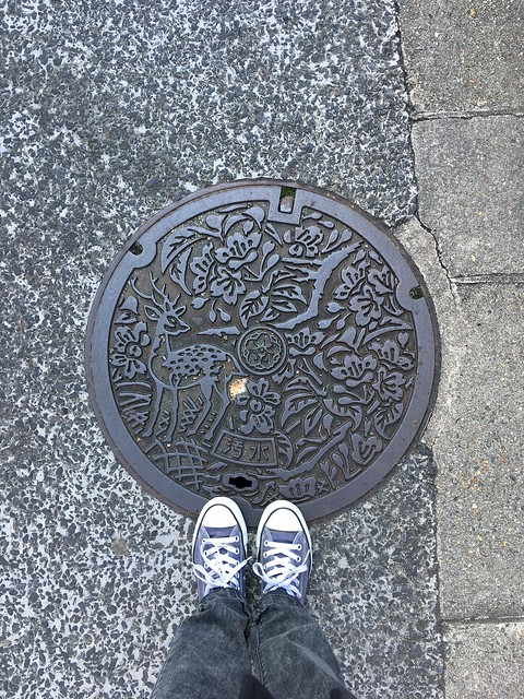 Manhole in Nara