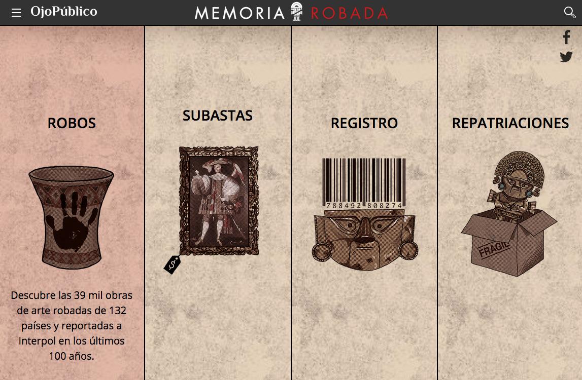 Peruvian Investigative Journalism Website Ojo P Blico Experiments  # Muebles Nelly Maria
