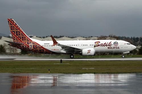Boeing 737 MAX 8 Batik Air Malaysia N60659 (9M-LRC) LN5948