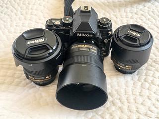 Kameraausrüstung für Tanger