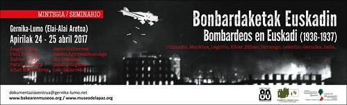 Bonbardaketak Euskadin (1936-1937) - Bombardeos en Euskadi (1936-1937)