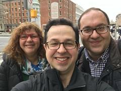 Fede con Mariel y Javier