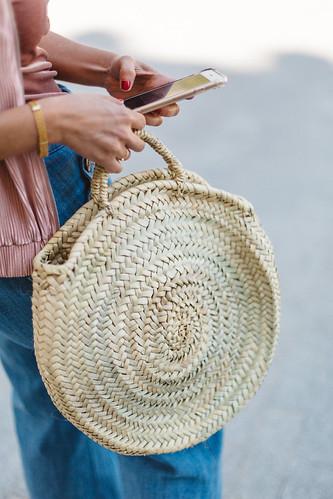 Esta primavera los capazos ser n redondos la casa - Cestos de palma ...