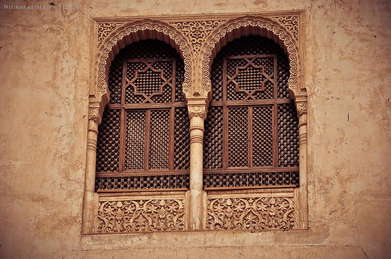 Spain | Alhambra - Window