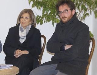 Nica Ferri e Giuseppe Nitti quando insieme erano in LiberaCasamassima