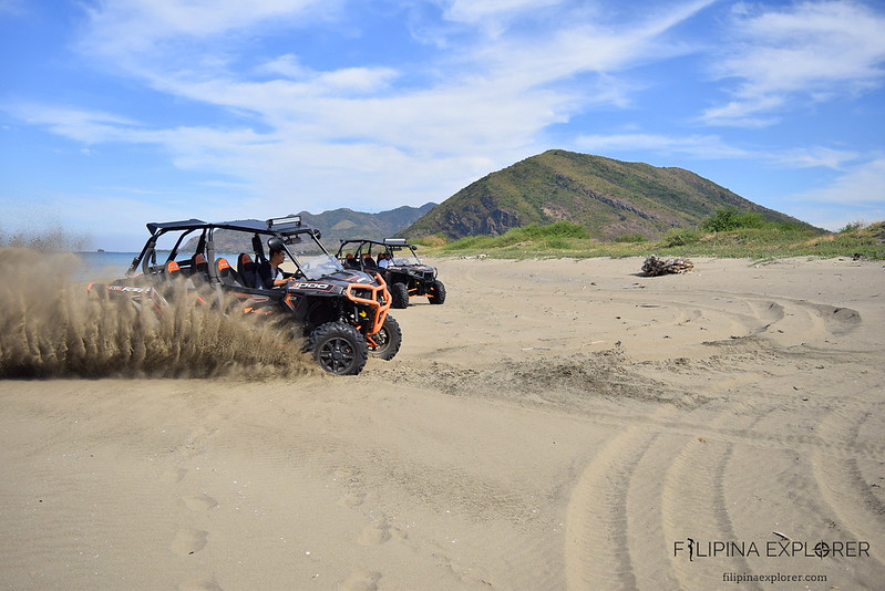 Buggy rides at the goldens sands of Narvacan