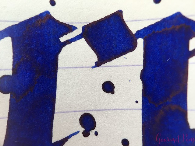 Ink Shot Review Diamine Flowers Cornflower @AppelboomLaren  7