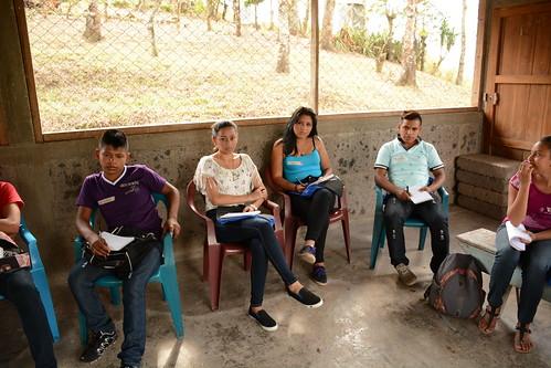 Taller de cambio climático, fotografía y video para jóvenes del TeSAC El Tuma-La Dalia