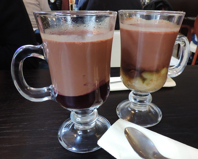 Wedel hot chocolate, Warsaw, Poland