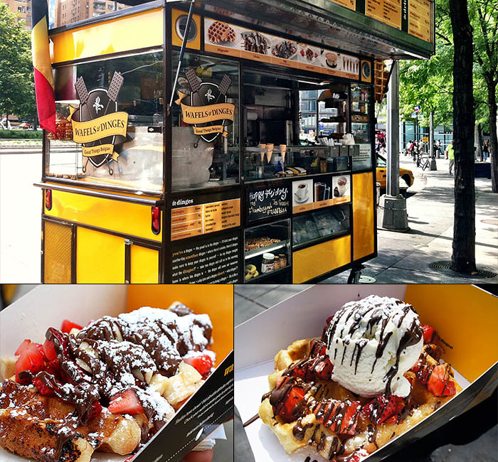 Wafels Dinges Your Trip To New York Needs One Of Delicious Waffles The Food Truck Is Famous In City And There No Way Resist