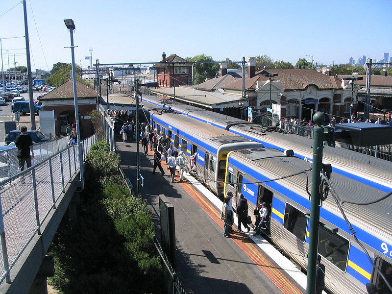 Footscray Station, April 2007