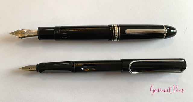 Review Montblanc Meisterstück 149 Platinum Fountain Pen - Oblique Triple Broad @Montblanc_World @AppelboomLaren 18