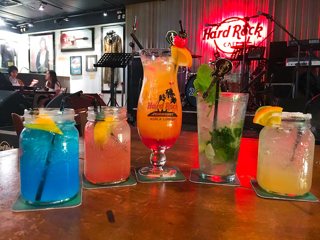 Hard Rock Cafe Kuala Lumpur - Cocktails