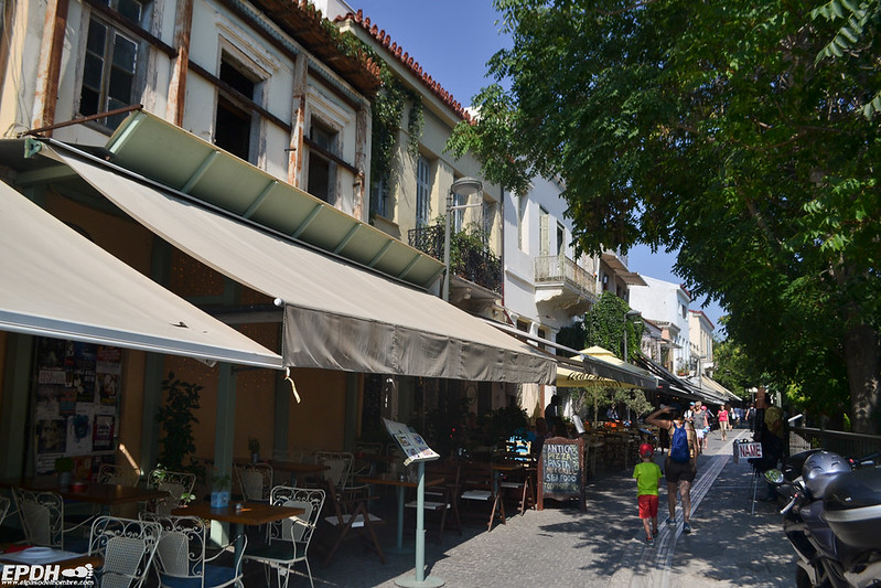 calle Adriano en Monastiraki