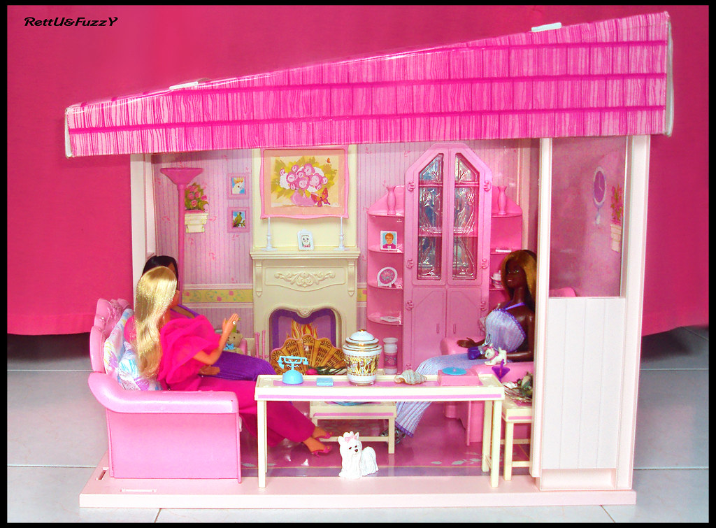 Barbie Living Pretty Furniture Collection 1987 ( Living Ro… | Flickr