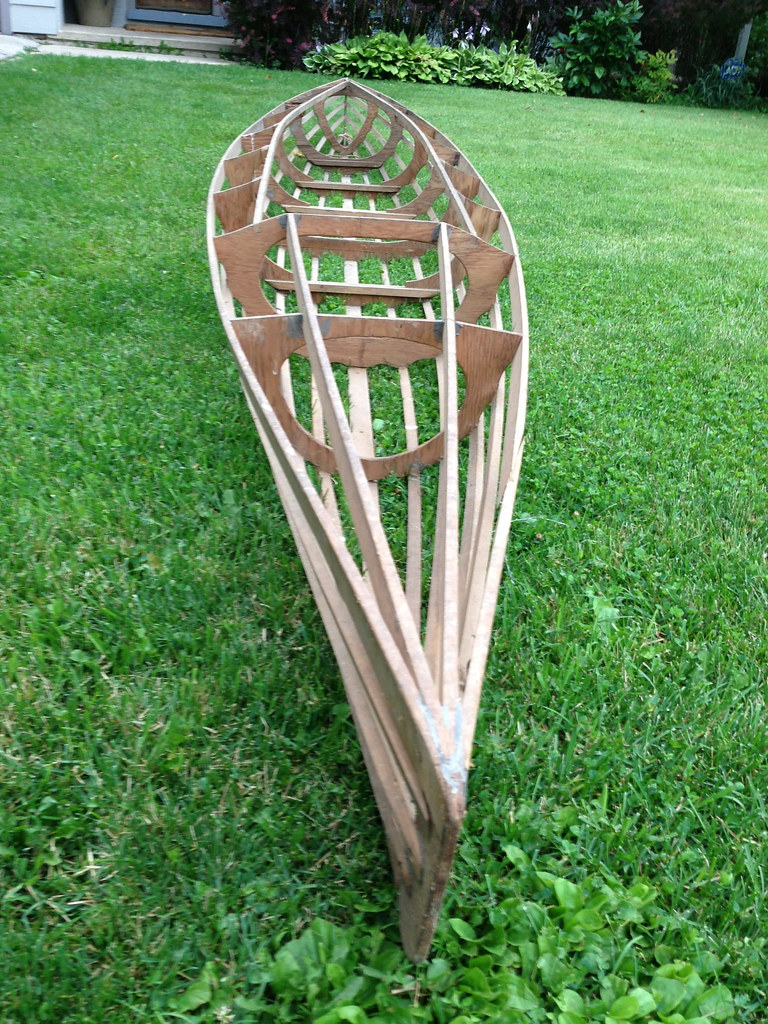 Wooden Kayak Frame