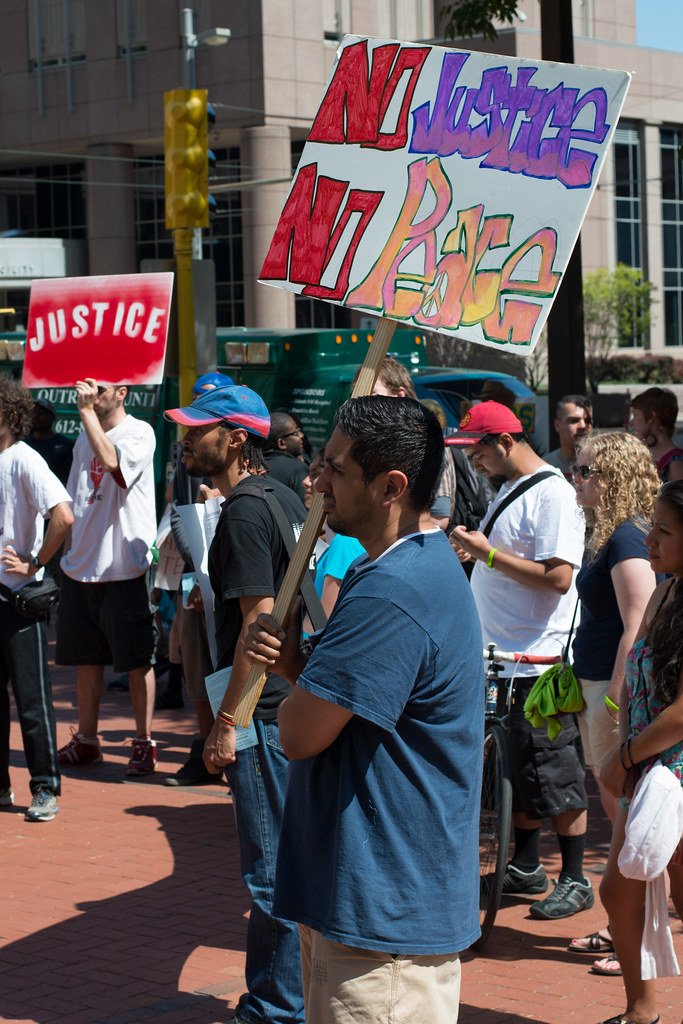 Justice for Terrance Franklin rally in Minneapolis today | Flickr