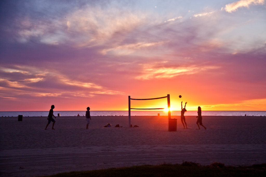 Find image  volleyball on venice beach los angeles ca thanks to