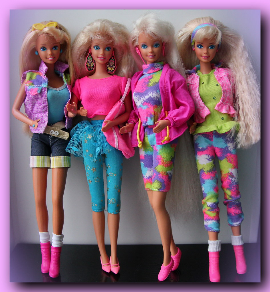 Barbies From The Early 90s Barbie 90s | by Raisochka