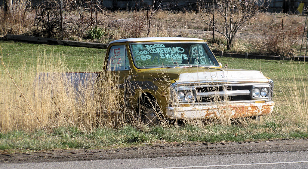 1969 GMC Pickup For Sale | There must be something horribly … | Flickr