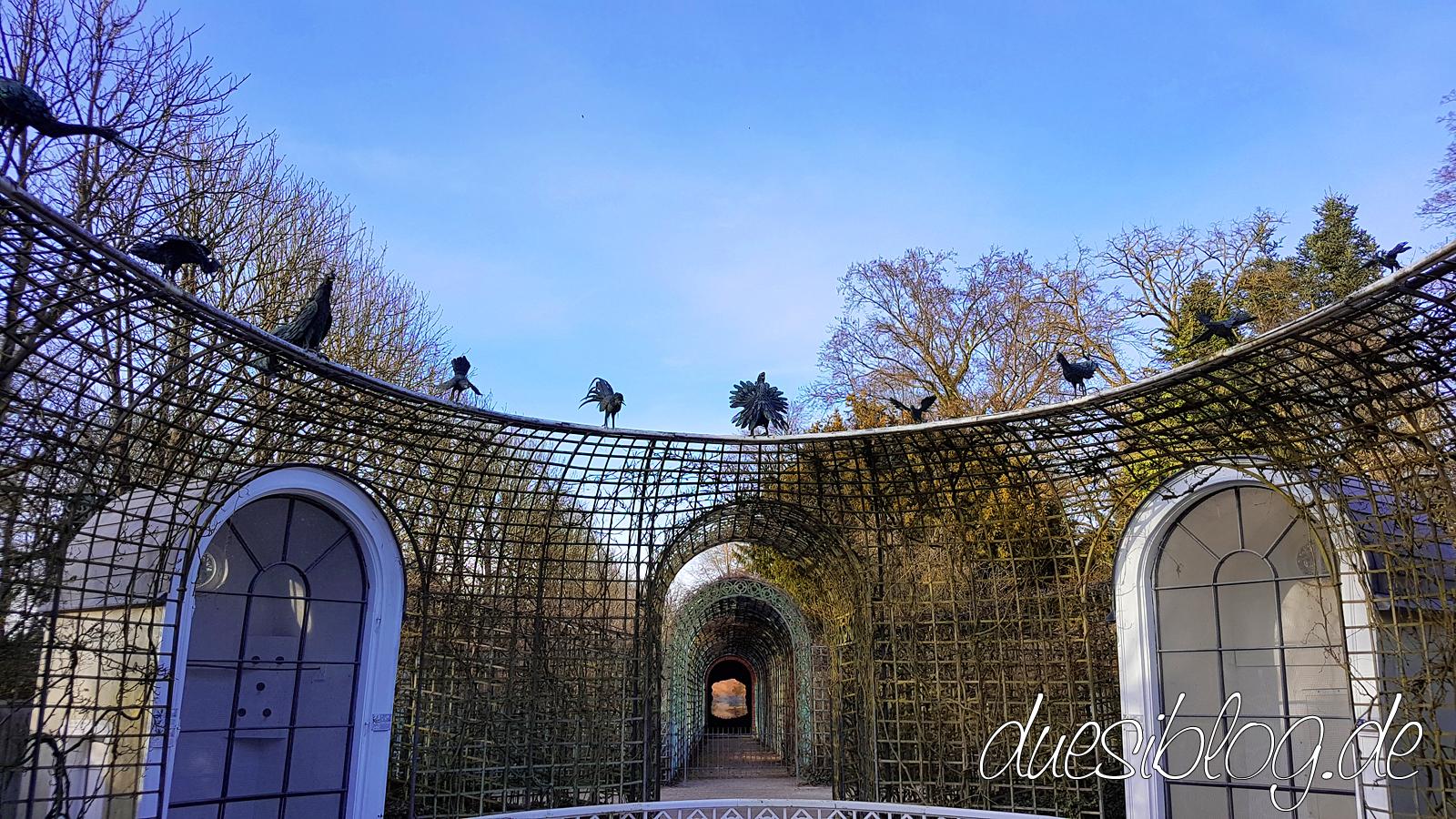 Perspektiv Ende der Welt Schwetzingen Schlosspark duesiblog 02