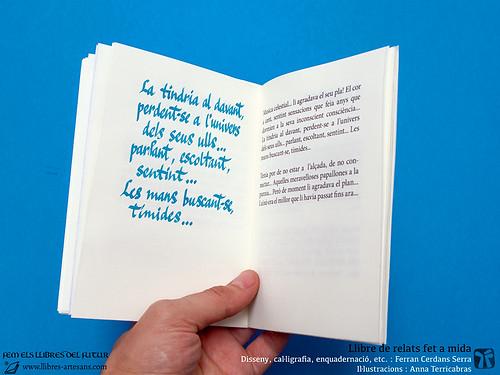 Llibre fet a mida, composició mixta impresa i manuscrita