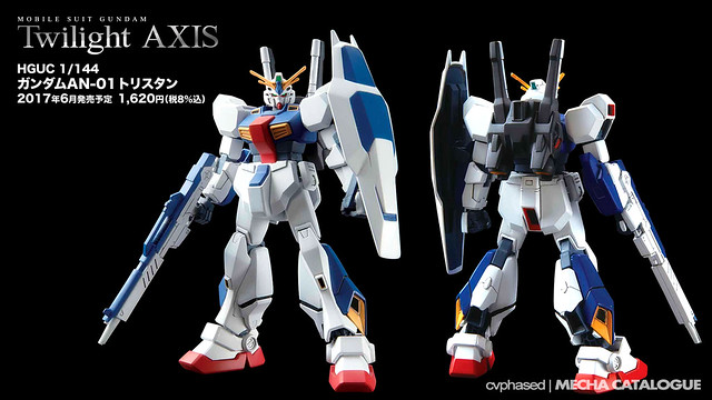 Mobile Suit Gundam Twilight AXIS - HGUC Gundam AN-01 Tristan