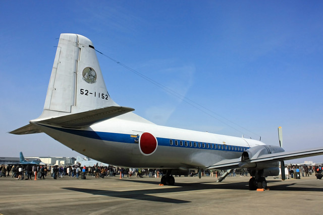 YS-11 52-1152 第3輸送航空隊 第403飛行隊所属機 IMG_4821_2