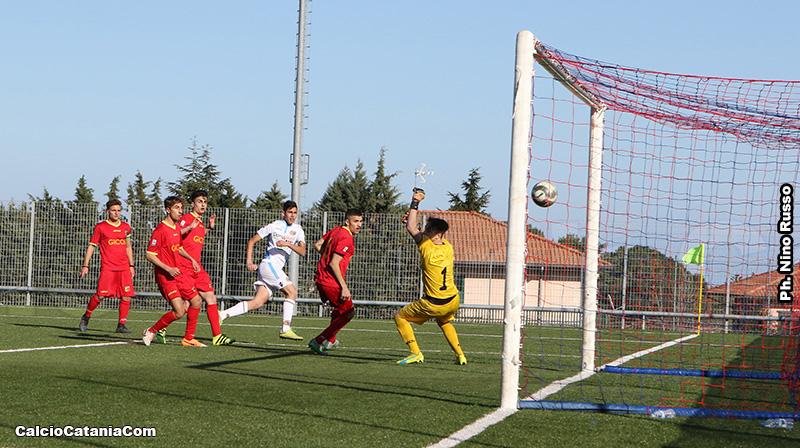 Alessio Rizzo a segno al Catanzaro con la maglia della Berretti rossazzurra